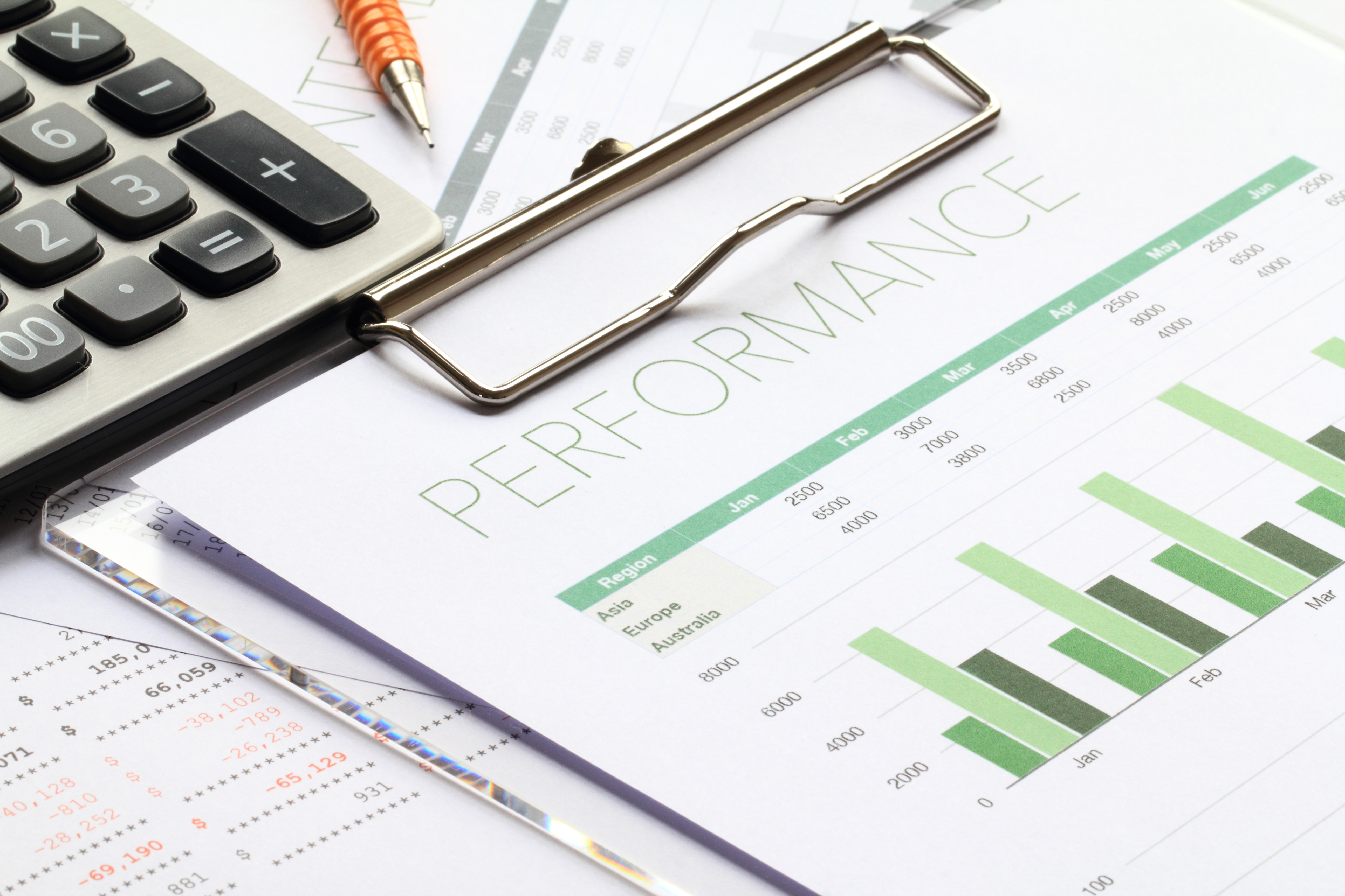 Business performance report for the first half of fiscal year